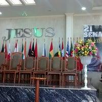 Photo taken at ADCA Sede - Assembleia de Deus - Casimiro de Abreu by Sheyla B. on 12/7/2014