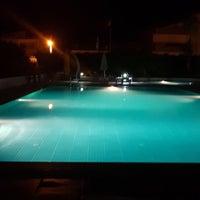 Photo taken at Oba Prestij Pool by Seda G. on 7/17/2017