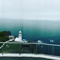 Photo taken at Chikiu-misaki Lighthouse by Stin S. on 5/10/2017