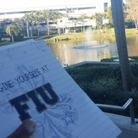 Photo taken at FIU - University Park Campus by Khalid A. on 12/18/2014