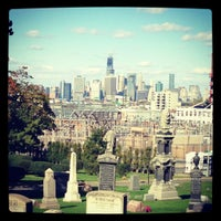 Photo taken at Green-Wood Cemetery by sonia m. on 10/21/2012