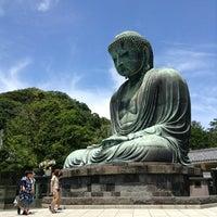 Photo taken at Great Buddha of Kamakura by Yoshinori K. on 7/19/2013