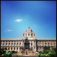 Photo taken at Kunsthistorisches Museum Wien by Nino L. on 7/8/2013