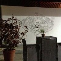 Photo taken at Traspatio Café by Myriam D. on 11/10/2012