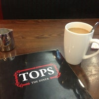 Photo taken at Tops Diner by Milton B. on 5/24/2013