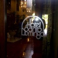 Photo taken at Hotel Santo Domingo by Josias G. on 5/14/2013