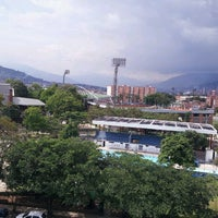 Photo taken at Polideportivo Sur Envigado by Sandra L. on 5/16/2013
