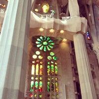 Foto tomada en Templo Expiatorio de la Sagrada Familia por Noriko K. el 7/8/2013