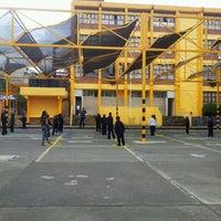Photo taken at Escuela Primaria Alfredo V. Bonfil by Adela S. on 9/26/2013