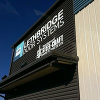 Photo taken at Lethbridge Door Systems by A S. on 10/24/2013