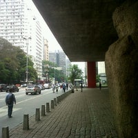 Photo taken at São Paulo Museum of Art by Rachel M. on 11/3/2012