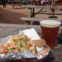 Photo taken at Clearfork Food Park by Bill K. on 3/28/2014