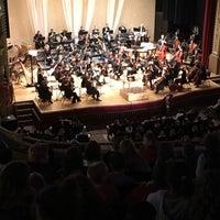 Photo taken at Historic Paramount Theatre by Brad K. on 10/26/2017