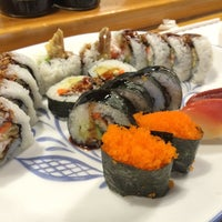 Photo taken at Pacific Cabin Sushi by Vincent P. on 7/20/2014
