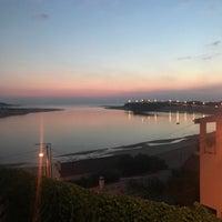 Photo taken at Praia de Vila Nova de Milfontes by Thorsten D. on 10/31/2017