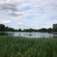 Photo taken at Britzer Garten by Thorsten D. on 6/16/2013