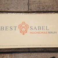 Das Foto wurde bei BEST-Sabel-Hochschule von Thorsten D. am 5/20/2014 aufgenommen
