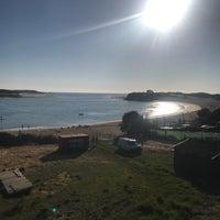 Photo taken at Praia de Vila Nova de Milfontes by Thorsten D. on 10/30/2017