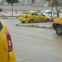 Photo taken at Adliye Taksi Durağı by Samet B. on 12/30/2015