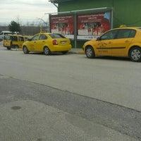 Photo taken at Adliye Taksi Durağı by Samet B. on 2/4/2016