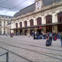 Photo taken at Gare SNCF de Bordeaux Saint-Jean by Franck B. on 5/24/2013