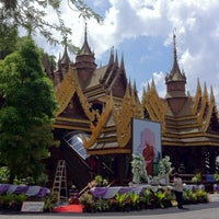 Photo taken at Wat Sangkhathan by Hiromoki T. on 10/10/2012