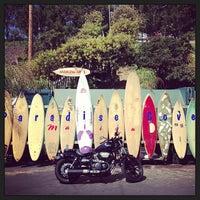 Photo taken at Paradise Cove Beach Cafe by Mattia A. on 7/15/2013