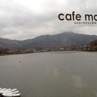 Photo taken at Cafe mou by Se Geun K. on 11/11/2012
