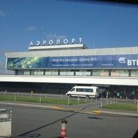 Снимок сделан в Международный аэропорт Пулково (LED) пользователем Olga E. 7/23/2013