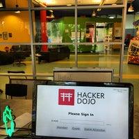 Photo taken at Hacker Dojo by Nikolay M. on 3/25/2014