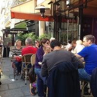 Photo taken at Café le Soufflot by Mir G. on 9/21/2013