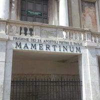 Photo taken at Carcere Mamertino by Vasilina K. on 8/14/2012