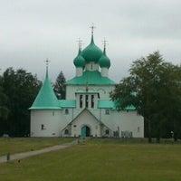 Photo taken at Храм преподобного Сергия Радонежского (Куликово поле) by Marsha M. on 6/22/2013