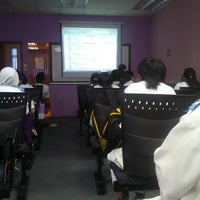 Photo taken at Masterskill Classroom by Esz on 11/15/2013