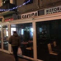 Photo taken at Ristorante Giapponese Sakura by Nicola O. on 12/13/2015