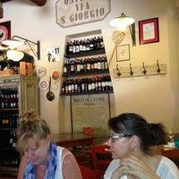 Photo taken at Osteria San Giorgio by Giancarlo B. on 7/26/2013