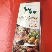 Photo taken at Restaurante La hiedra by Luis Arturo S. on 10/1/2017