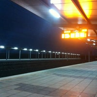 Photo taken at Polatli High Speed Train Station by Merve D. on 4/3/2013