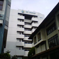 Photo taken at Perbanas Institute by Indah A. on 1/22/2013