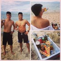 "Photo taken at Beach View, Camayan Beach Resort by Rey ""toquins"" Q. on 12/1/2014"