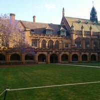Photo taken at Main Quadrangle by Alex . on 10/10/2013