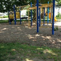 Photo taken at Parker St Playground by Gina P. on 6/29/2013