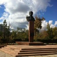 Photo taken at Перекресток Абулхаир Хана- Молдагуловой by М М. on 10/1/2013