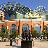 Photo taken at Miller Park by Michael R. on 7/5/2013
