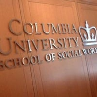 Photo taken at Columbia University School of Social Work by Desiree C. on 4/2/2013