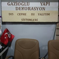 Photo taken at Gazioğlu Yapı Dekorasyon by Mustafa T. on 3/3/2015