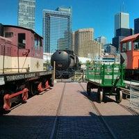 Photo taken at Toronto Railway Heritage Centre by Igor S. on 9/5/2013