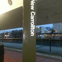 Photo taken at New Carrollton Metro Station by Kennya S. on 2/22/2013