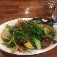 Photo taken at Blossom Vegan Restaurant by Tamara E. on 6/25/2017