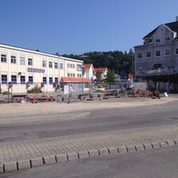 Photo taken at Mandal Rutebilstasjon by Christer T. on 7/7/2013